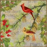 Christmas Birds II Fine-Art Print