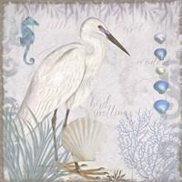 Waders II Little Egret Fine-Art Print
