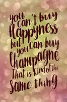 Happiness And Champagne Fine-Art Print