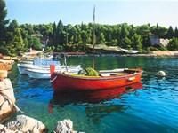 Red Boat Fine-Art Print
