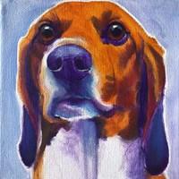Beagle - Mason Fine-Art Print