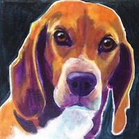 Beagle - Woody Fine-Art Print