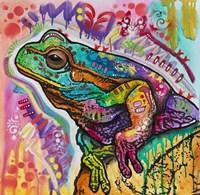 Psychedelic Frog Fine-Art Print