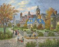 Autumn in the City Fine-Art Print