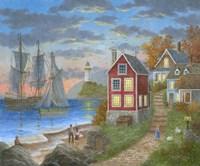 Anchor Bay Fine-Art Print