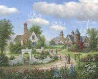 Sky Castles Fine-Art Print