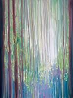 The Dryads Bluebell Wood Fine-Art Print