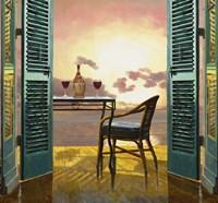 Vino Al Tramonto Fine-Art Print