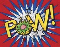 Comic Book 3 Fine-Art Print