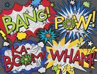 Comic Book 5 Fine-Art Print
