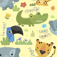 Jungle Baby half drop 2 Fine-Art Print