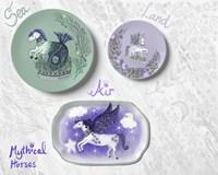 Mythical Horses Fine-Art Print