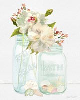 Bath Time Mason Jars Fine-Art Print