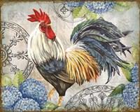 Ironwork Rooster D Fine-Art Print