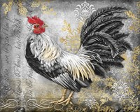 Gold Lace Rooster B Fine-Art Print
