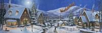 Christmas Town Panorama Fine-Art Print