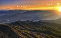 Smoky Mountains Sunset Fine-Art Print