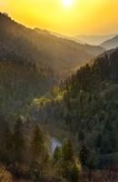 Sunset Valley In The Smokies Fine-Art Print