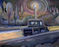 Tony Driving to Work Fine-Art Print