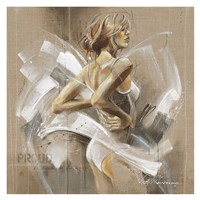 White Dress I Fine-Art Print