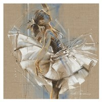 White Dress III Fine-Art Print