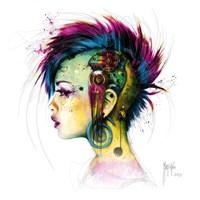 Cyber Punk Fine-Art Print