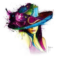 La Jeune Fille au Chapeau Fine-Art Print