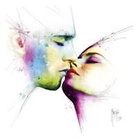 Le baiser Fine-Art Print