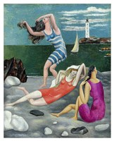 The Bathers, 1918 (Las Banistas) Fine-Art Print