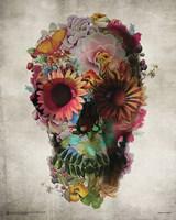 Flower Skull Fine-Art Print