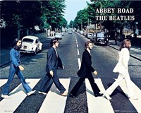 The Beatles Abbey Road Fine-Art Print