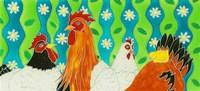 Chickens Fine-Art Print