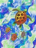 Sea Turtles Fine-Art Print