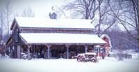 Cozy and Warm Blanket of Snow Fine-Art Print