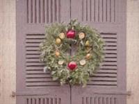 The Christmas Wreath Colonial Williamsburg Fine-Art Print