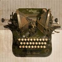 Typewriter 01 Oliver Fine-Art Print