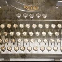 Typewriter 02 Royal keys 2 Fine-Art Print