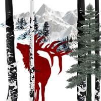 Winter Elk Fine-Art Print
