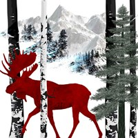Winter Moose Fine-Art Print