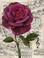 Vintage Rose Background 1 Fine-Art Print