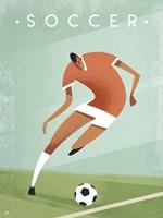 Vintage Soccer Fine-Art Print