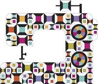 Colorful Sewing Machine Fine-Art Print