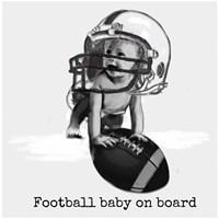 Football Baby 4 Fine-Art Print