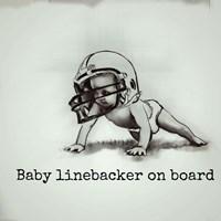 Baby Linebacker Fine-Art Print