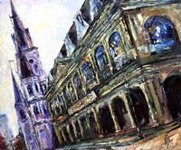 In the Heart of French Quarter of New Orleans Fine-Art Print