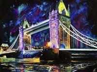 London Tower Bridge at Night Fine-Art Print