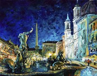 Piazza Navona Fine-Art Print