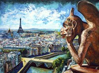 View from Notre Dame Fine-Art Print
