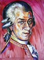 Wolfgang Amadeus Mozart Fine-Art Print