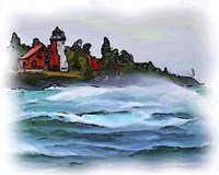 Ausable Lighthouse Fine-Art Print